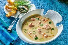 Abendessen - Gourmet Fischsuppe mit Lachs