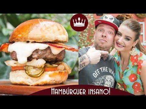 "Hambúrguer Bom Gosto (""Provoleta"") - part. Perrone - Sanduba Insano! | Gabi Rossi - YouTube"