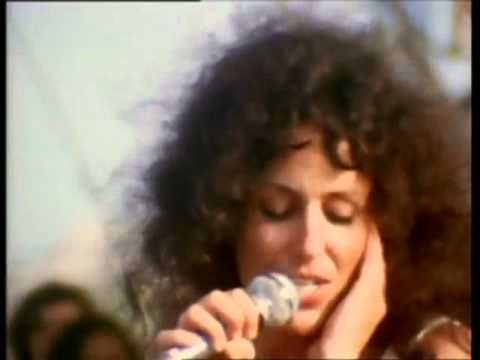 """""""White Rabbit"""", 1969, live at Woodstock--Jefferson Airplane, Grace Slick singing. ***Groovy***Long silence until 13 seconds...guess so you can read the credits..."""