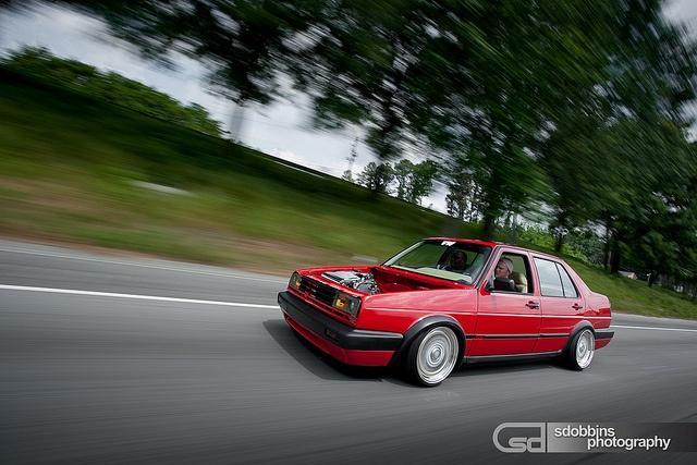 Russ' Mk2 VW Jetta VR6 on BBS RS's - 1127 by SDOBBINS Photography, via Flickr