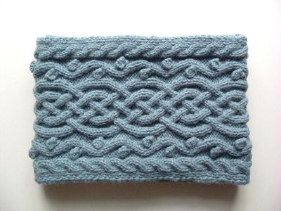Echarpe Irène en laine, Modèle de tricot - Loisirs créatifs