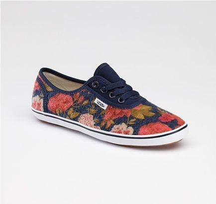 Vans: Floral Prints, Dreams Closet, Design Shoes, Floral Vans, Custom Design, Flowers Shoes, Flowers Vans, Blue Floral, Floral Shoes