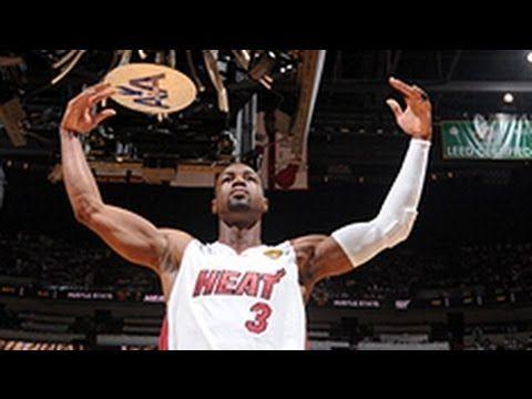 ▶ Dwyane Wade's Top 10 Plays of His Career - YouTube -- #ProBasketballMiamiHeat
