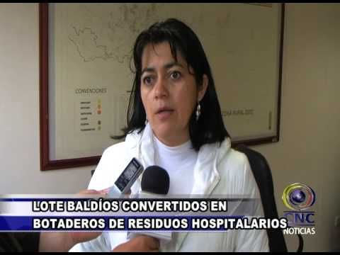 LOTE BALDÍOS CONVERTIDOS EN BOTADEROS DE RESIDUOS HOSPITALARIOS (CNC - L., 30 MAR 2015).
