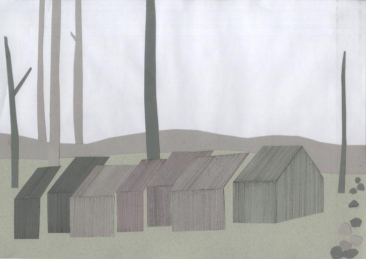 Imberg Arkitekter - Summer house collage
