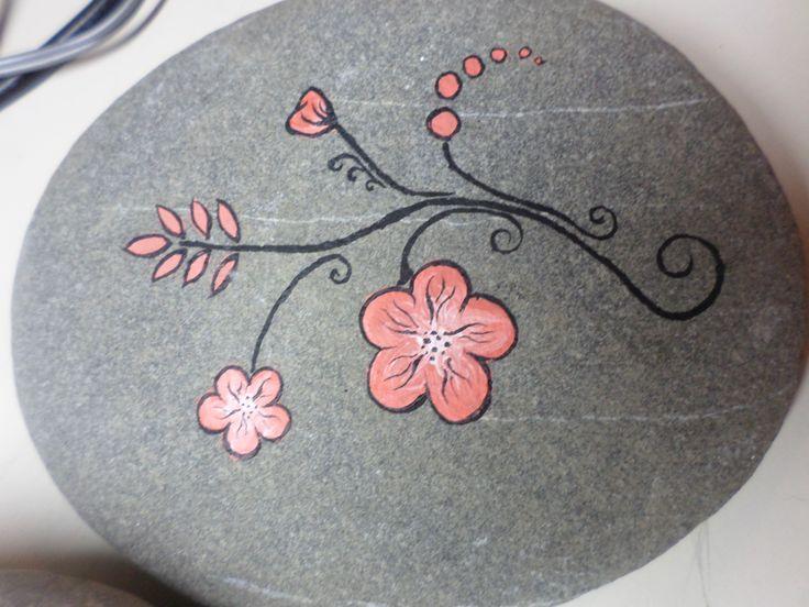 painted rocks its pastel designs!