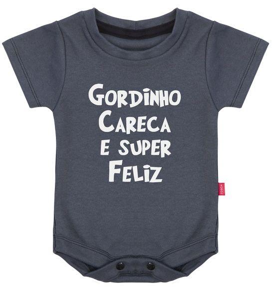 Body Infantil Gordinho