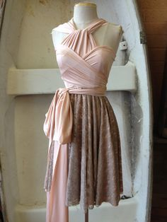 Infinity Dress - Hi/Lo Lace Skirt - Manufacturer