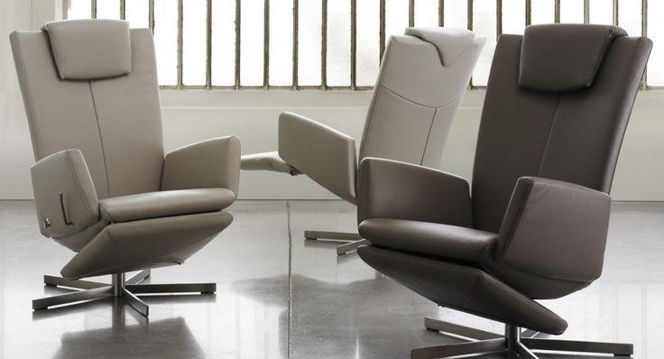 Les 25 meilleures id es de la cat gorie inclinable en cuir sur pinterest fauteuils de club en for Maison corbeil chaise bercante