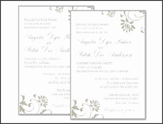 Ms Word Wedding Invitation Template Best Of 9 Blank Wedding Invitation Te Party Invite Template Wedding Invitation Templates Blank Wedding Invitation Templates