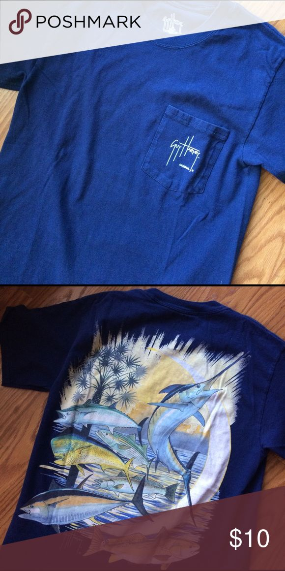 A guy Harvey t shirt A guy Harvey t shirt in excellent condition no wear or tears guy harvey Tops Tees - Short Sleeve