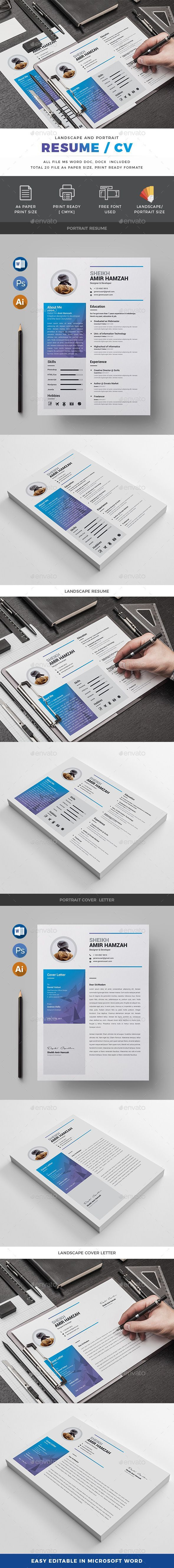 cashier resume format%0A  Resume  Resumes  Stationery Download here  https   graphicriver net