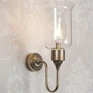 The Cheser #Wall #Light is a #modern twist on a very #traditional style.