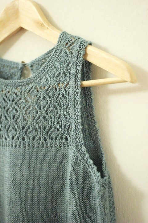 Knitted Summer Tops Patterns : 25+ best ideas about Summer knitting on Pinterest Summer knitting projects,...