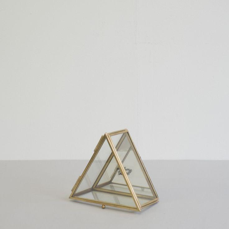 Brass Tri Trinket Box | Alex & Corban Home