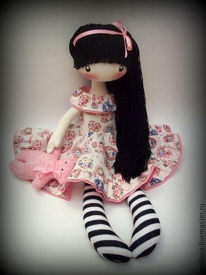 Человечки ручной работы. Ярмарка Мастеров - ручная работа Текстильная кукла Элис. Handmade.