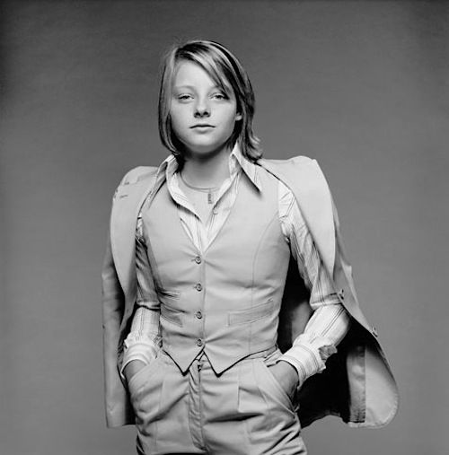 Jody Foster, 1976. Photo by Terry O'Neill.