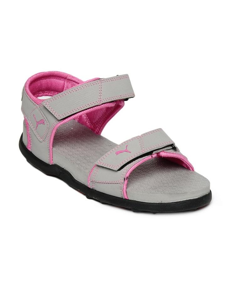 Puma Women Grey Sonic Sandals   Myntra
