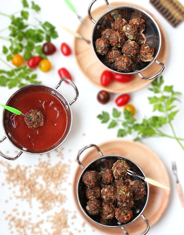 Bring the family together with these healthy and delicious meatballs! Even though they are 'baked, not fried' they are tender and tasty. Enjoy!