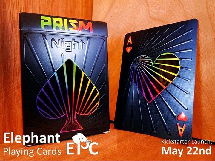 Prism: Night Playing Cards on Kickstarter