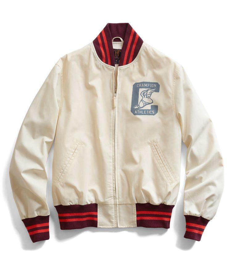 Off White Baseball Jacket
