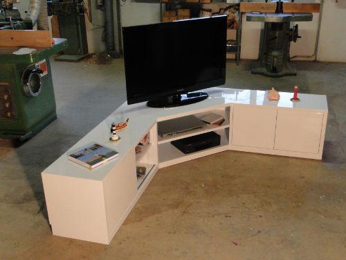 25+ best ideas about meuble de tele on pinterest   meuble de ... - Meuble Tv Angle Design Salon
