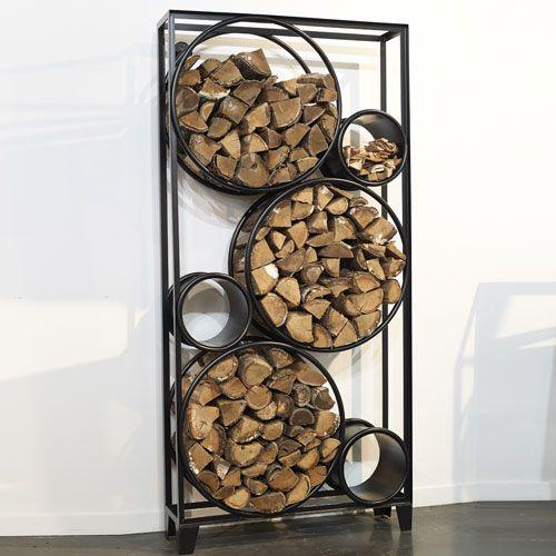 Les 16 meilleures images du tableau ranges buches sur pinterest stockage de bois de chauffage - Range buche interieur design ...