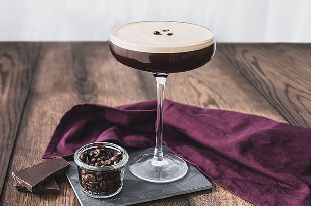 Garnished with a few coffee beans, the espresso martini is a sophisticated little devil – it's dressed to kill, and this recipe is perfect every time.