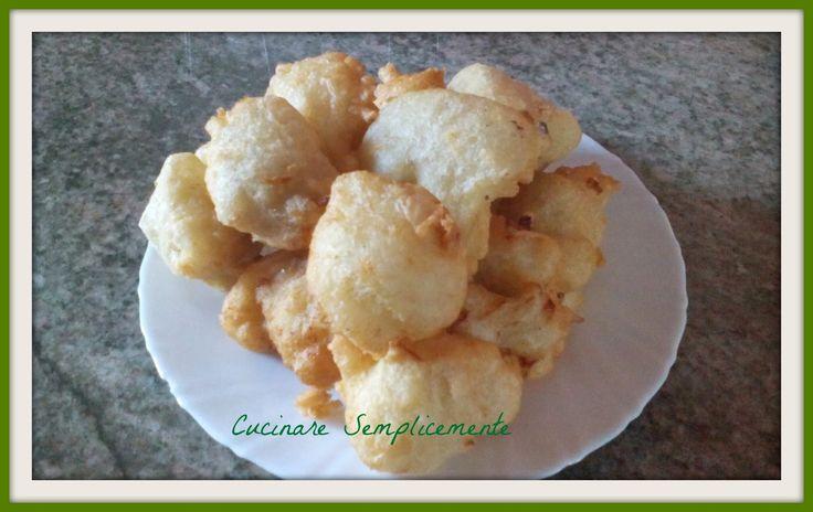 cucinare semplicemente: Frittelle di baccala'
