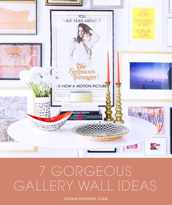 7 Gorgeous Gallery Wall Ideas