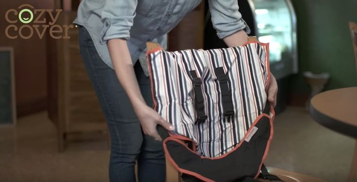 Cozy Cover Easy Seat: The Portable High Chair for Your Little One