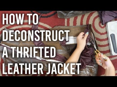 DiaryofaCreativeFanatic: DIY- Restyle | Leather Jackets to Bags