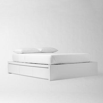 Storage Bed Frame #WestElm
