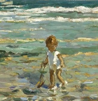 Dorothea Sharp - A Lone Paddler