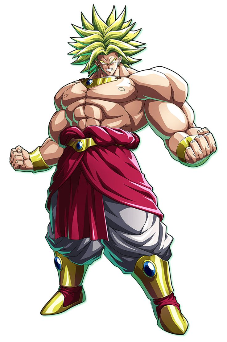 Broly from Dragon Ball FighterZ