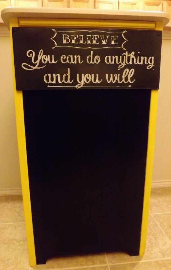 Custom Made Teacher's Podium by CottonFlair on Etsy, $235.00