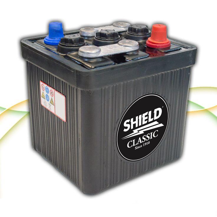 Type 401 6v Classic & Vintage Car Battery www.batterycharged.co.uk/shop/brands/shield-batteries/6v-classic-car-batteries/shield-401-6v-classic-car-ba-1135127.html