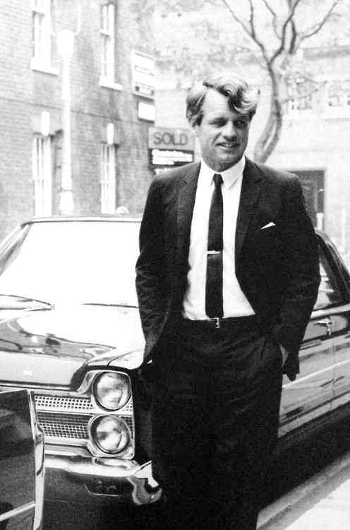 "United States Attorney General Mr~~Robert Francis Kennedy (November 20, 1925 – June 6, 1968), commonly known as ""Bobby"" or by his initials RFK, was an American politician from Massachusetts. He served as a Senator for New York from 1965 until his assassination in 1968. He was previously the 64th U.S. Attorney General from 1961 to 1964, serving under his older brother, President John F. Kennedy    ♡❤❤❤♡❤♡❤❤❤♡"