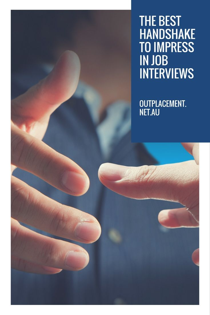 What is the best handshake to use in a job interview? There are many different styles - which one will impress the most? More career advice from Glide Outplacement and Career Coaching.