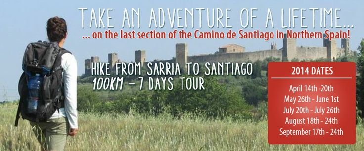 #Hiking Sarria to Santiago lots this year! Love the #CaminodeSantiago