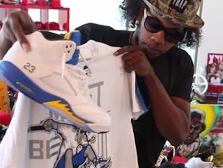 Trinidad James Talks About His Favorite Air Jordan Shoe & More On His Camp James Youtube Special