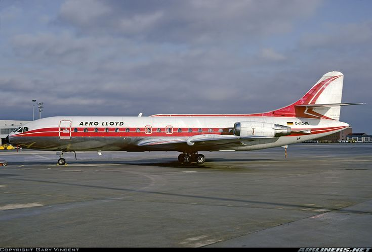 Sud SE-210 Caravelle 10B1R - Aero Lloyd | Aviation Photo #2373508 | Airliners.net