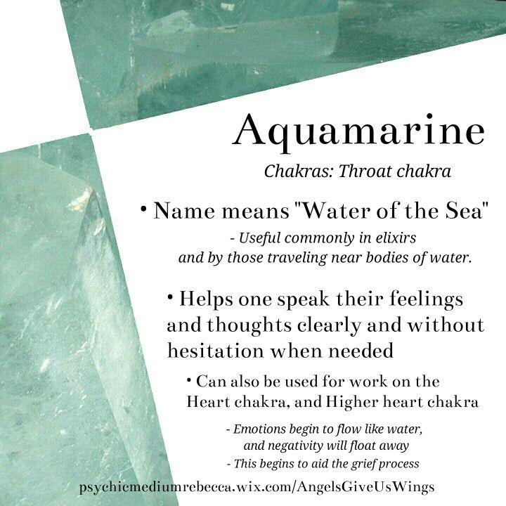 Aquamarine crystal meaning