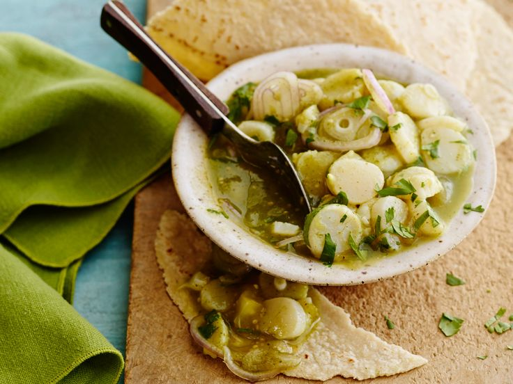 Tomatillo Scallop Ceviche Recipe : Food Network Kitchen : Food Network - FoodNetwork.com