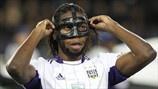 Dieumerci Mbokani (RSC Anderlecht) | Anderlecht 1-3 Milan. 21.11.12.
