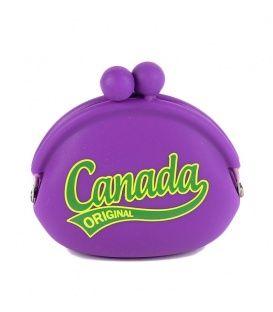 Purple Canada Jelly Coin Purse