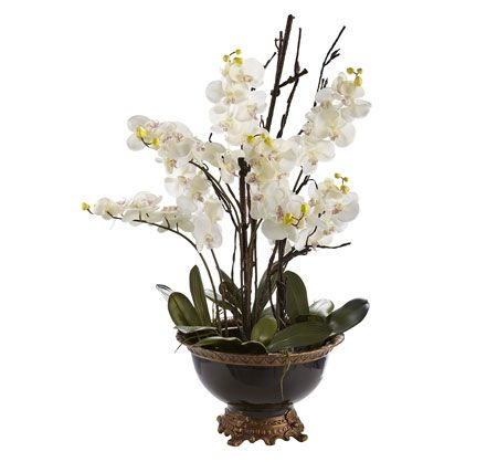 Bombay & Co, Inc.::Accessories::Florals/Garden::Manhattan Orchid II