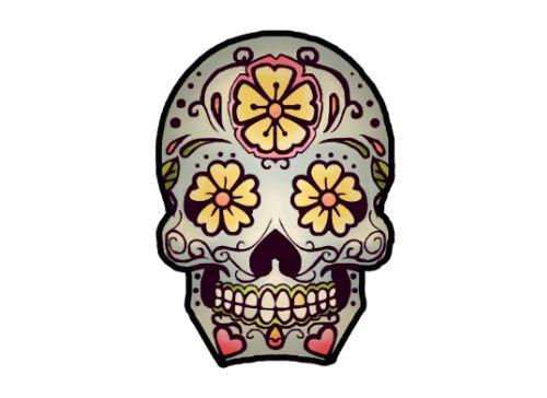 Sugar Skull Tattoo Set