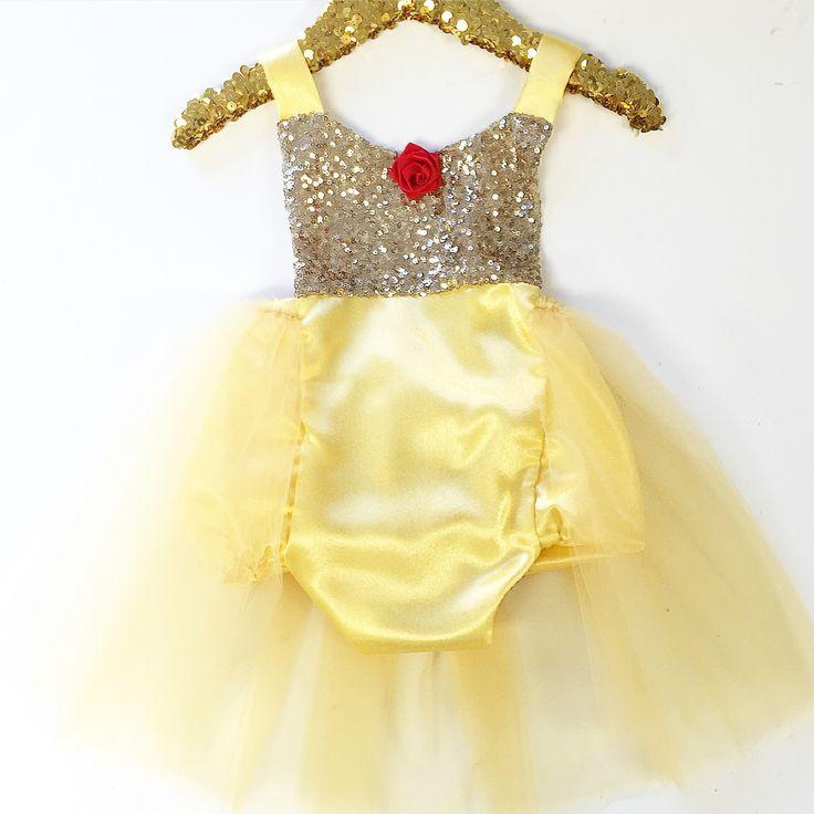 Royal Princess Tutu Sparkle Romper - Rose - Belle Threads