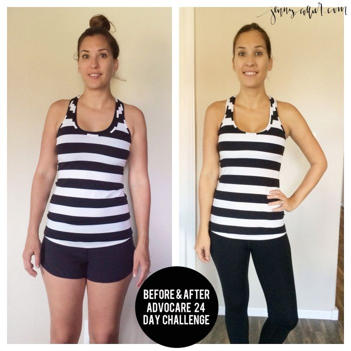 Advocare 24 Day Challenge Before & After https://www.advocare.com/140327545